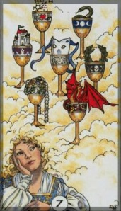 Robin Wood Tarot Seven of Cups